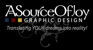 ASourceOfJoy Graphic Design -- quality graphic design freelancing